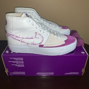 Nike SB Blazer Mid White/Purple-gold Men's Size 4